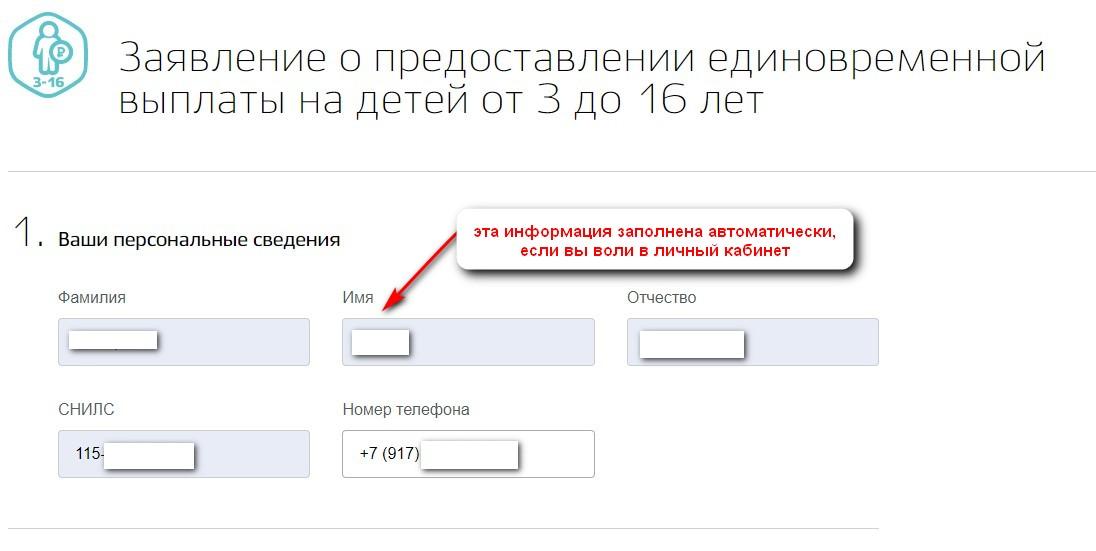 Инструкция по подаче заявления на выплату