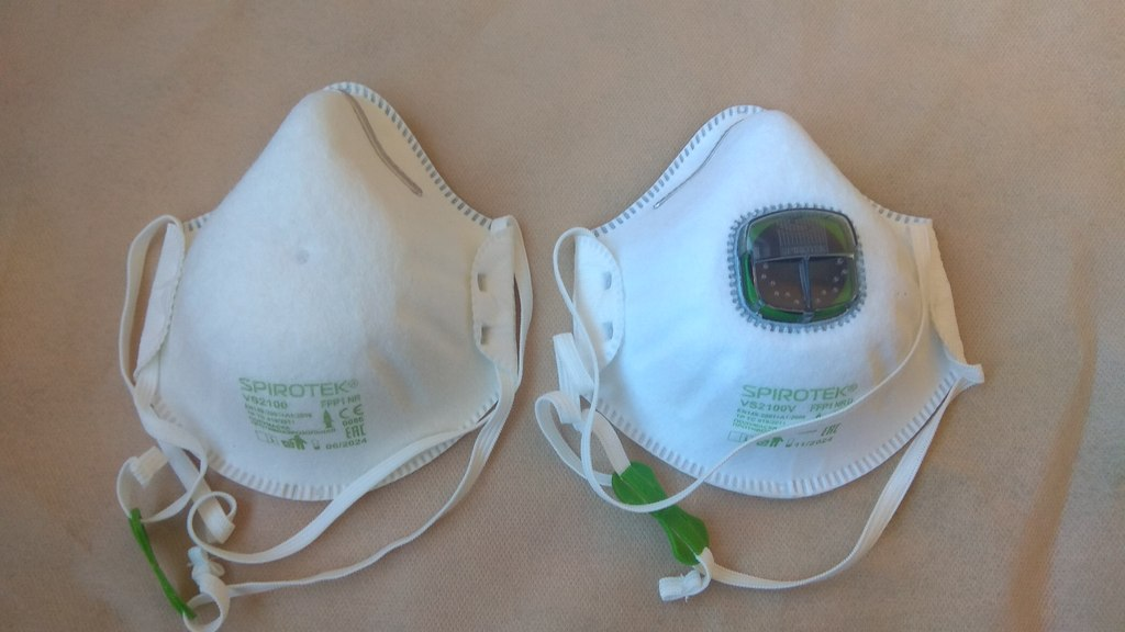 Строительные маски респираторы защищают от коронавируса