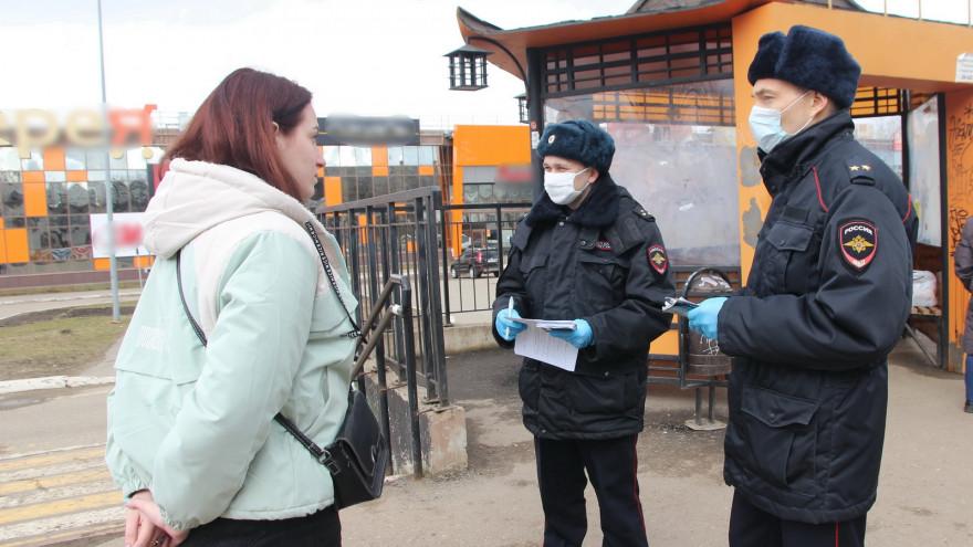 Штрафы за отсутствие маски в Самаре