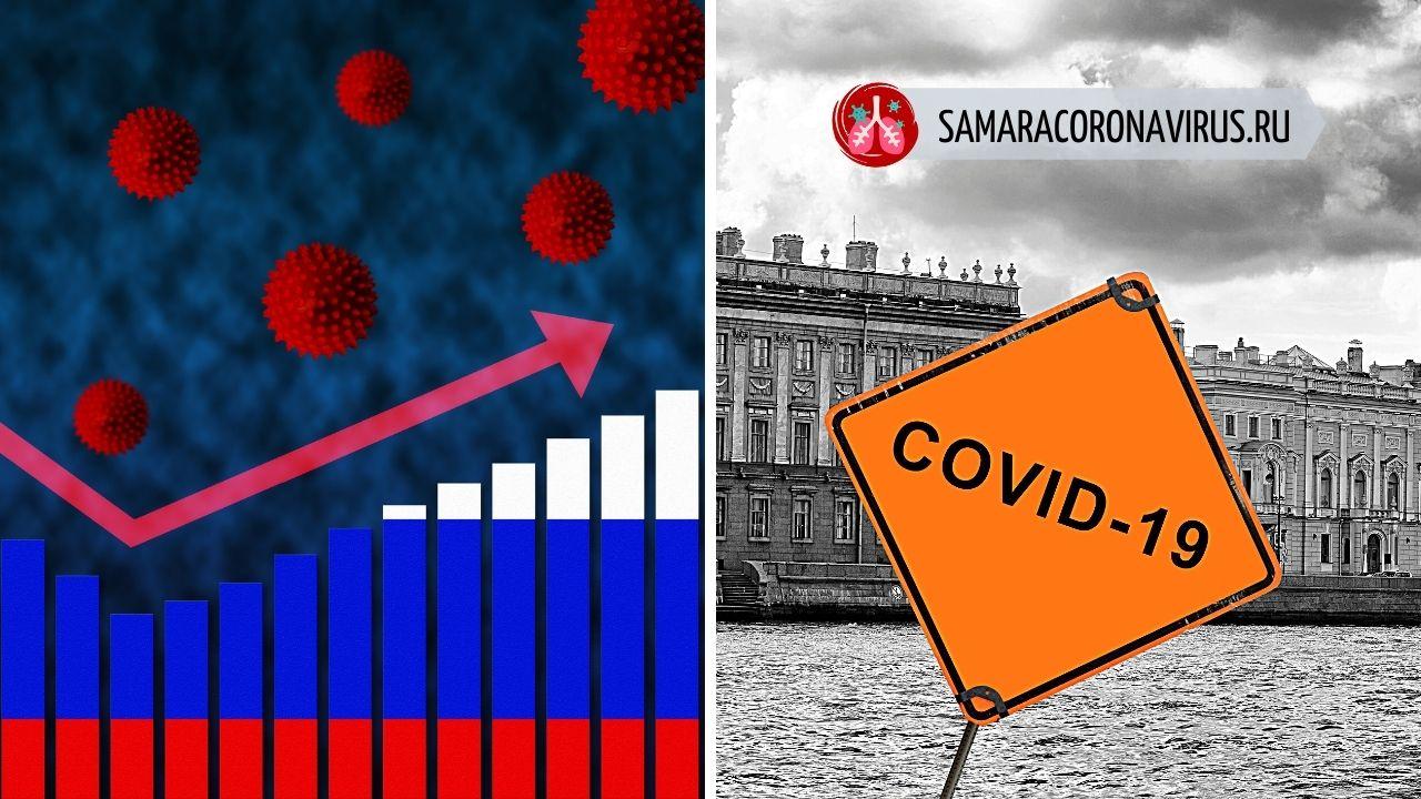 Число заболевших коронавирусом в России растет