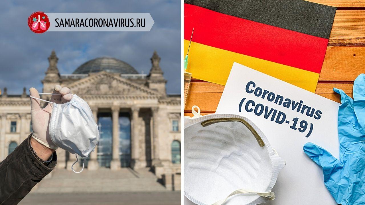 Границы Германии закрыты из-за коронавируса