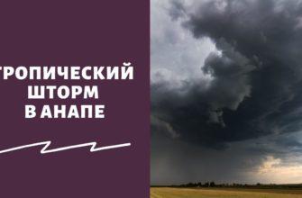 Ситуация с наводнением в Анапе и Витязево на сегодняшний день